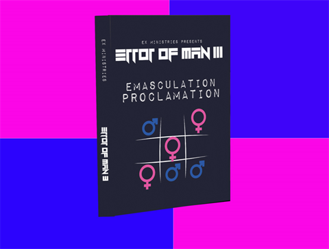 Error of Man III